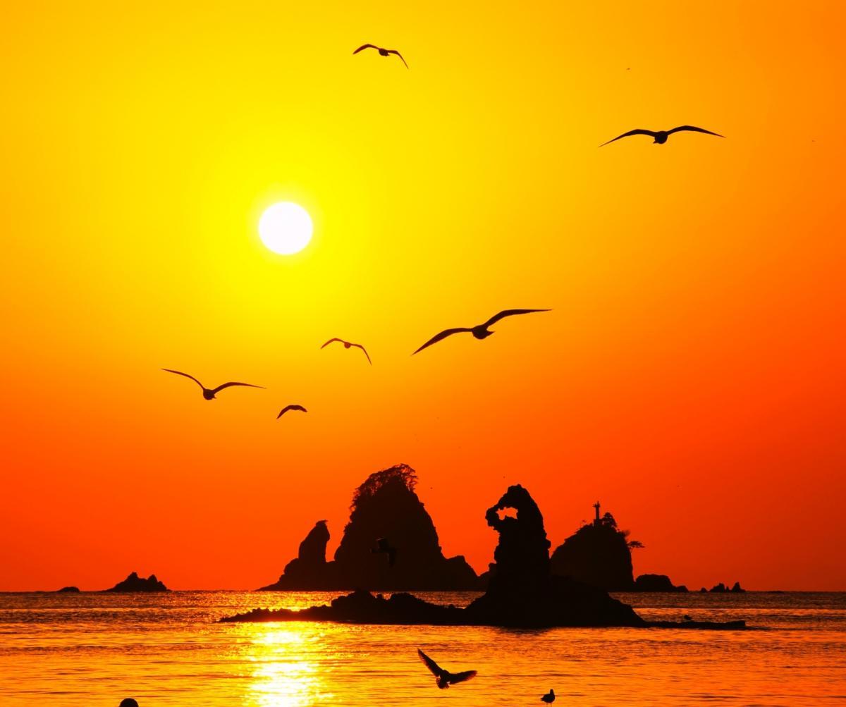 (グランプリ)田子島の夕景