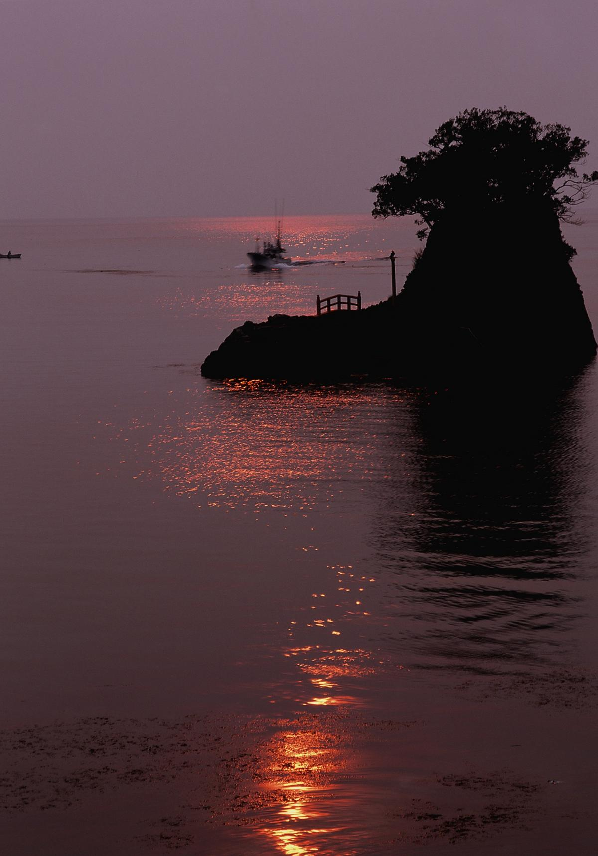 (入選)弁天島の夕景