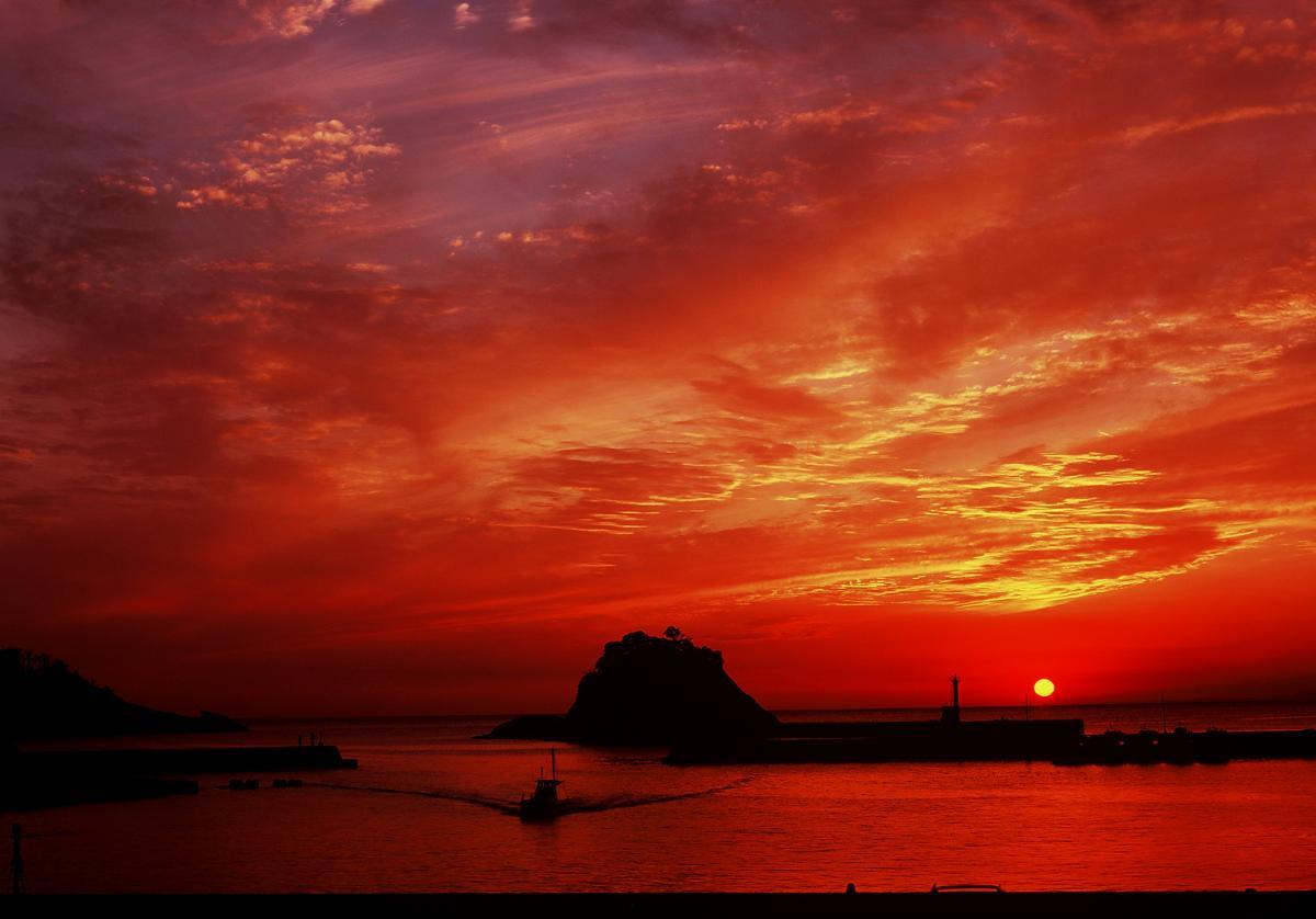 (入選)港,夕げしき