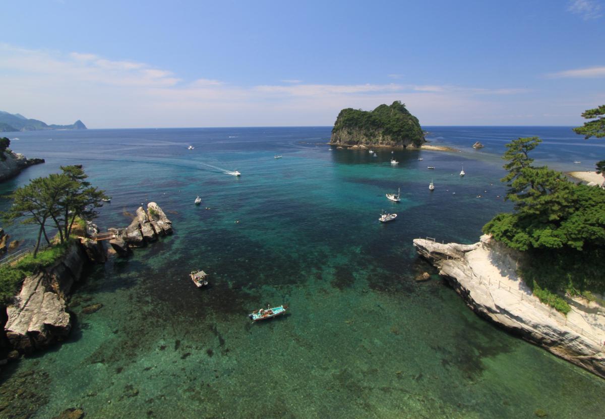 (入選)堂ヶ島の絶景