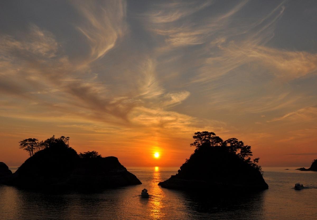 (入選)夕映えの堂ヶ島