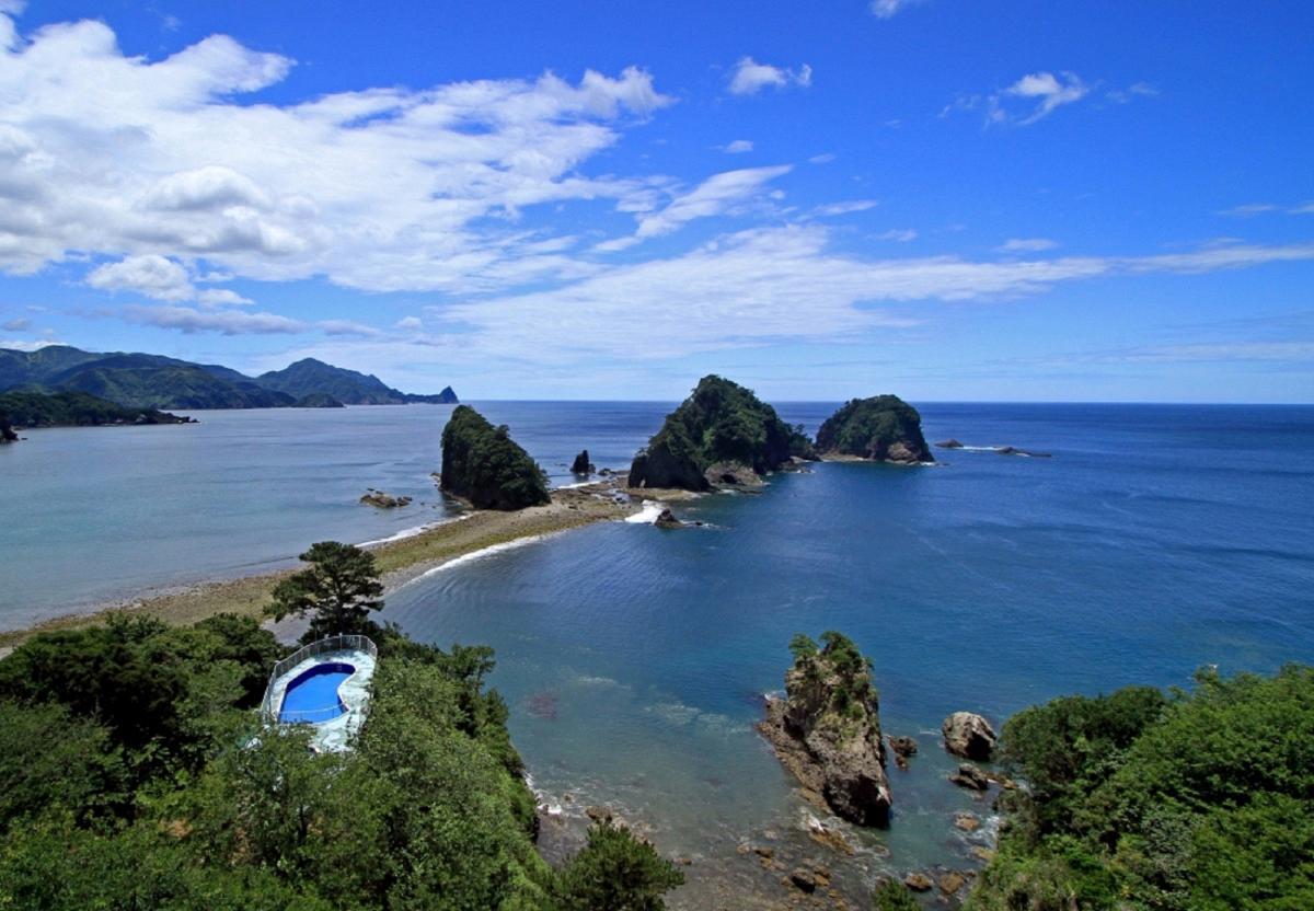 (特選)三四郎島の絶景
