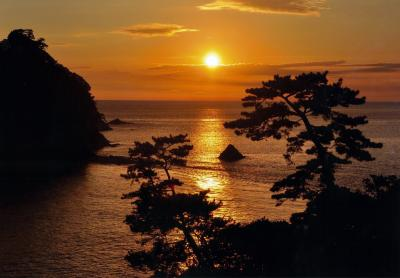 (佳作)夕陽の瀬浜