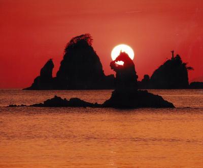 (佳作)田子島に沈む夕陽