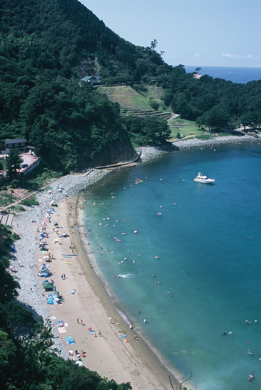 海水浴風景(入選)
