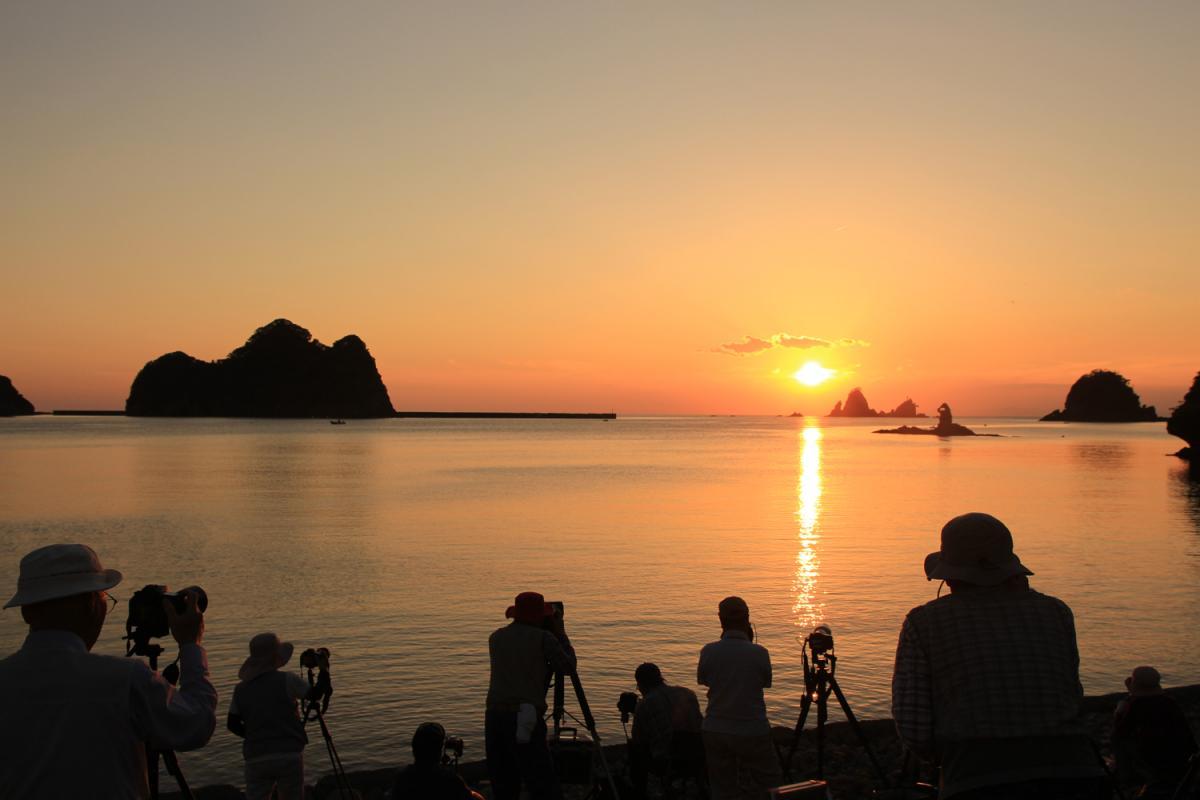 (入選)夕陽に魅せられて