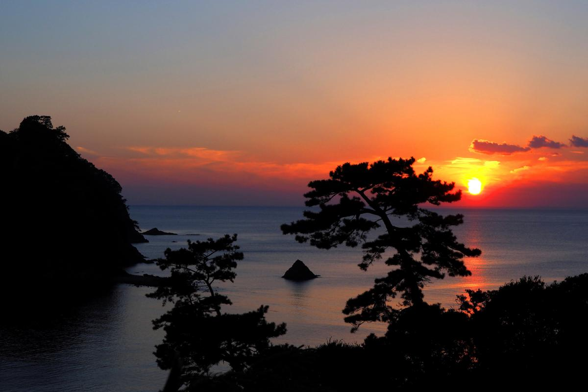 (佳作)瀬浜の日没を彩る