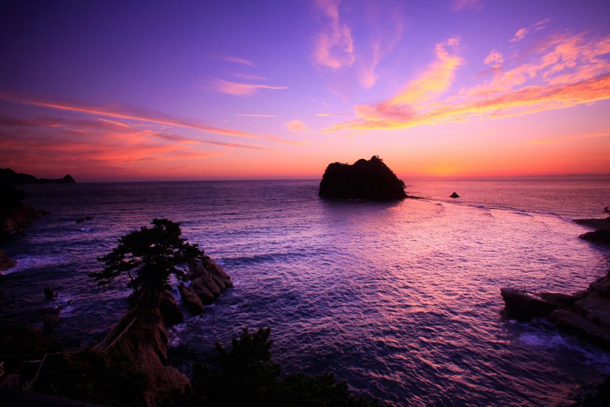 (入選)黒浜の夕景
