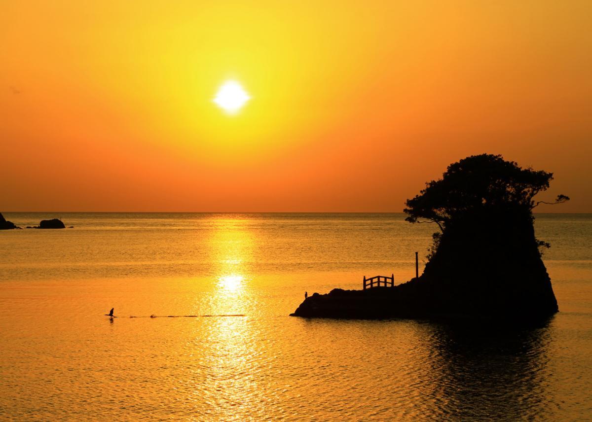 (入選)安良里港の夕景